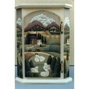 Corner Scene Cabinet