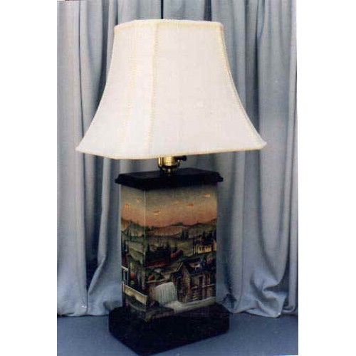 Covered Bridge Lamp