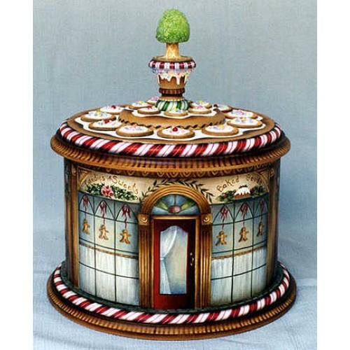 Gingerbread Bakery Box