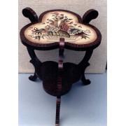 Jacobean Floral Table