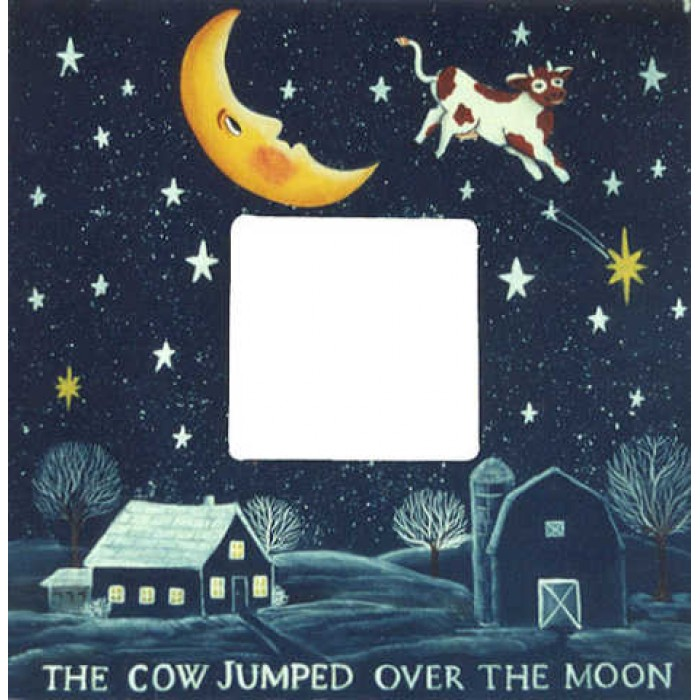 Cow Jumped Over The Moon Picture Frame Pictures To Pin On