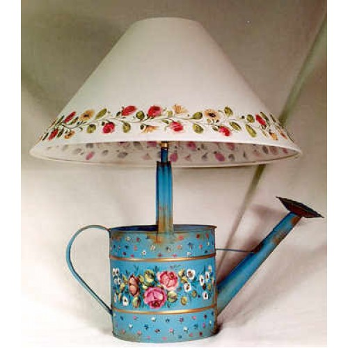 French Watering Can Lamp