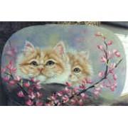 Kittens and Rosebuds