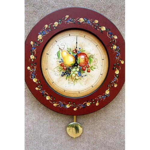 Glazed Fruit Clock