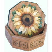 Sunflower Seed Box