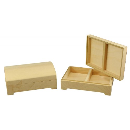 Card Box - Round Top