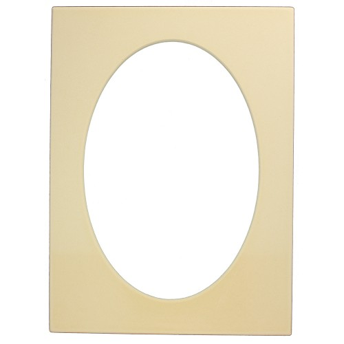 Rectangle Frame w/ Oval Cutout 1