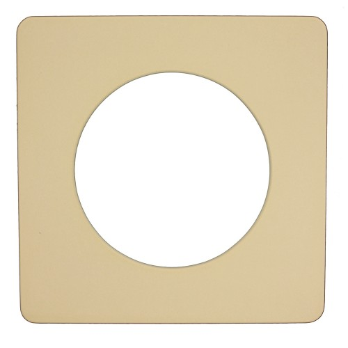 Square frame w/ Round Cutout 1